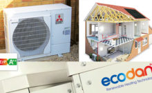 Renewable Technologies at aberla - air source heat pumps
